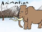 The Woolly Mammoth by Louisetheanimator