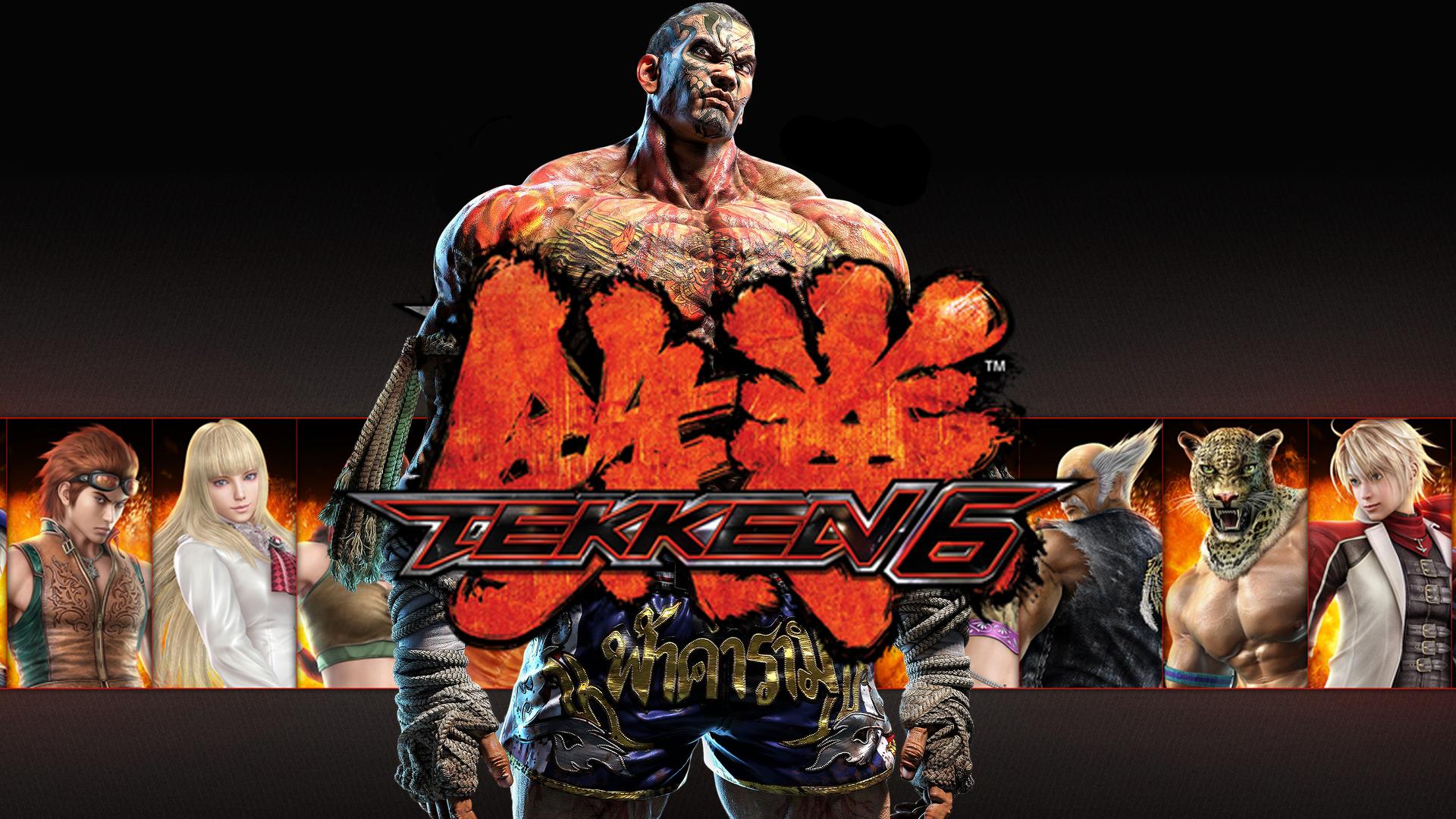 Tekken 6 Announcer For Tekken 7 Fahkumram Update By Rekothewolf