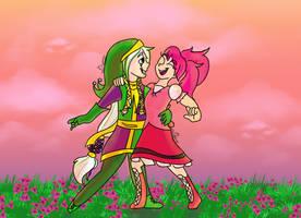 Raizel and Maiaka by DannysUniverse