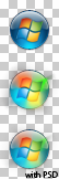 Windows 7 Start Orb PNG by botalpha1