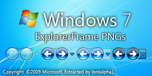 Windows 7 ExplorerFrame PNG by botalpha1