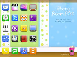 iPhone Room PSD by ToffeeNut