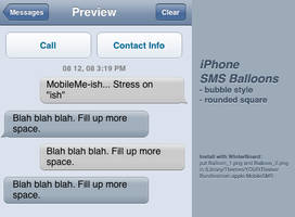 MobileMe-ish SMS Balloons by ToffeeNut