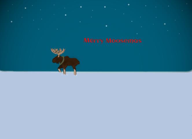 Merry Moosemas by Whatsup15