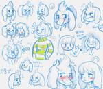 Asriel sketches