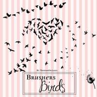 Brusher Birds by CamilaTutorials