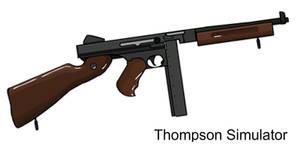 M1A1 Thompson Simulator