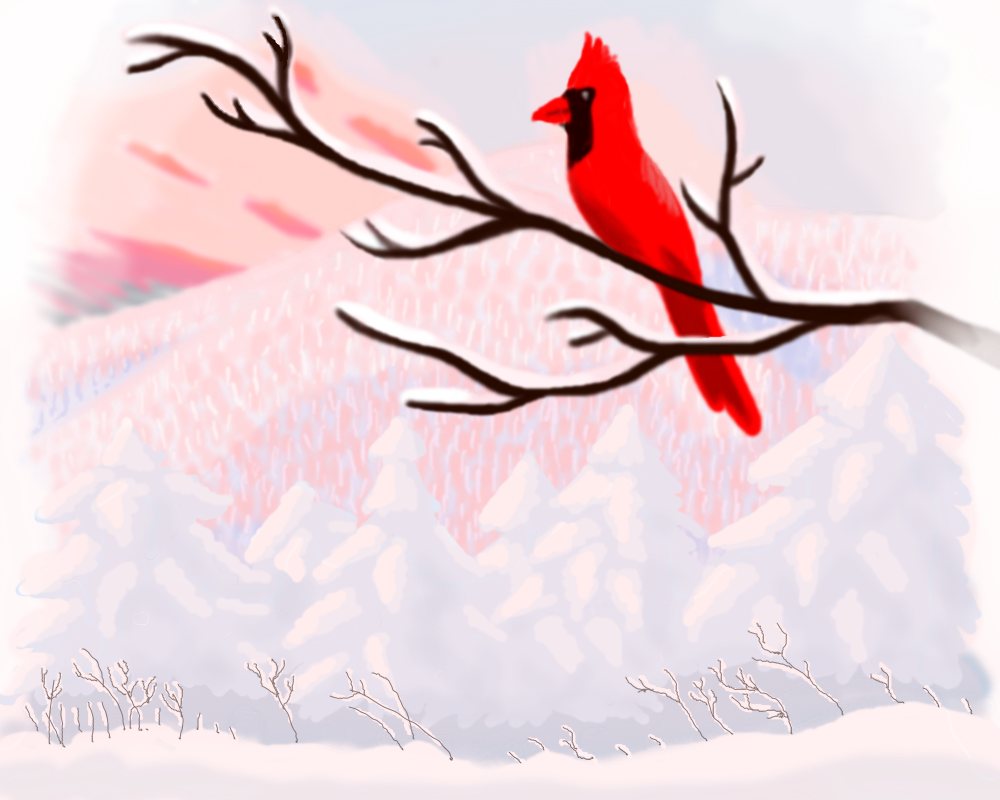 Dawn Cardinal by AzizrianDaoXrak