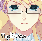 Pixel Nyo!sweden by Vale-shiro