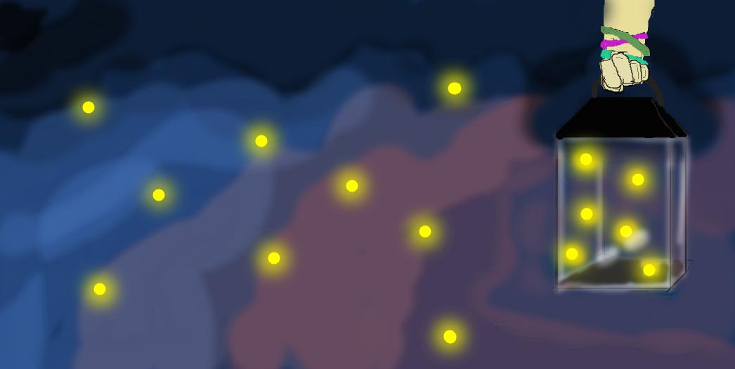 Fireflies in the night sky by AskJellyfishPrincess on ...