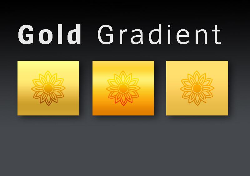 gold gradient by ademmm