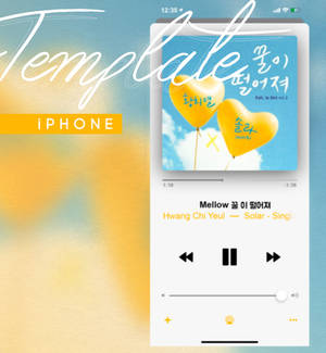 Template iPhone Music