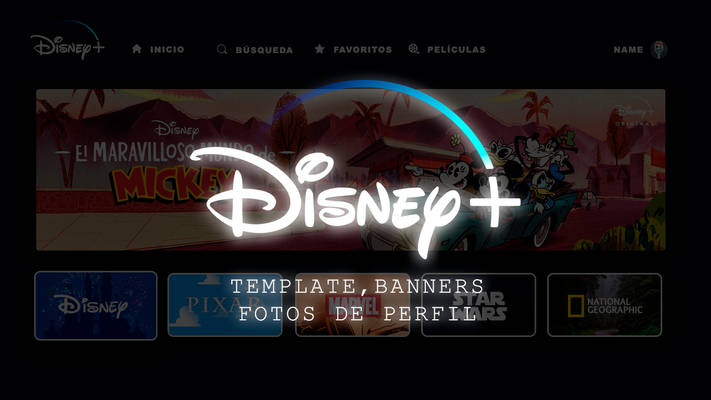 TEMPLATE - Disney Plus l HOME