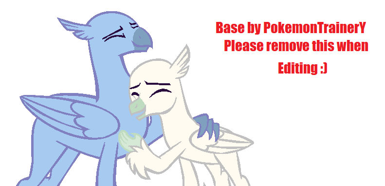 Hippogriff Hug (MS PAINT) By PokemonTrainerY On