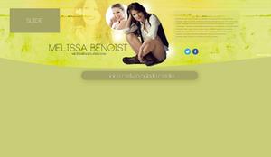 Melissa Benoist header PSD