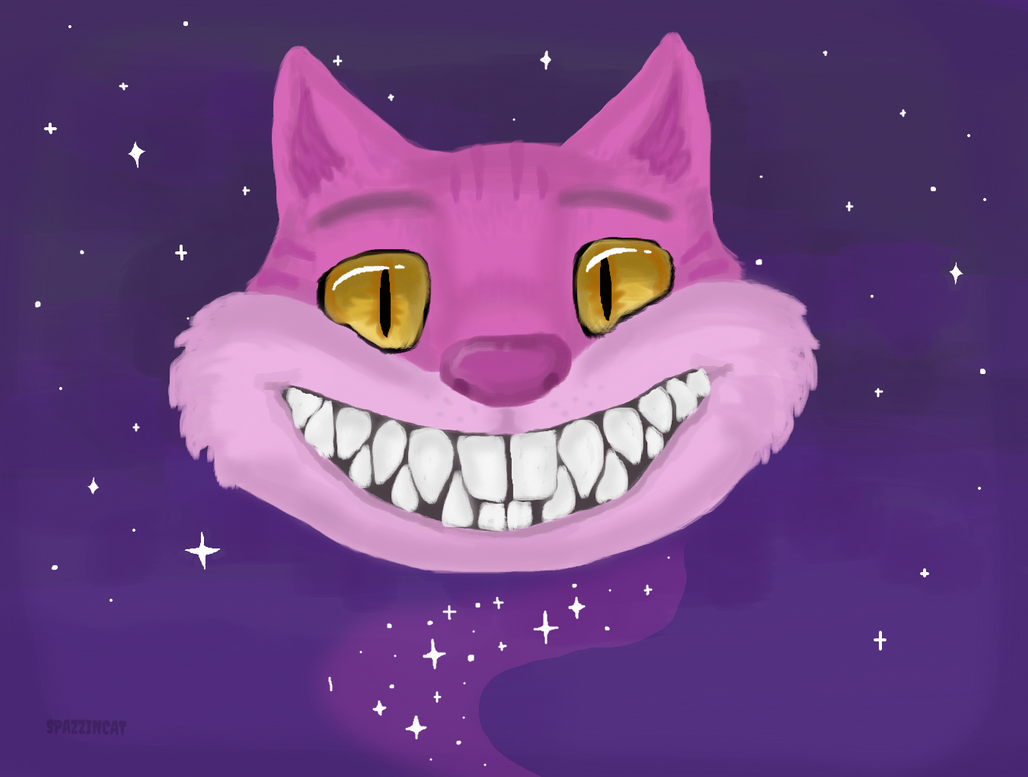 Cheshire Cat by SpazzinCat