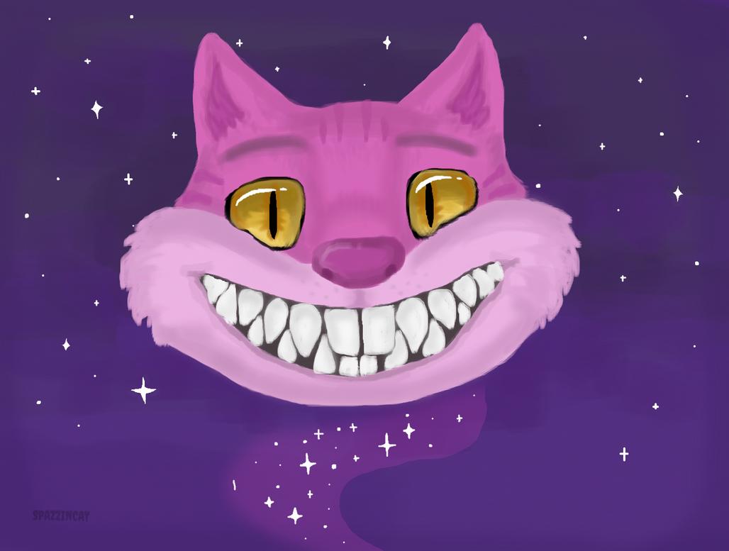 Cheshire Cat by SpazzinCat