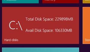 Newgen Disk Widget