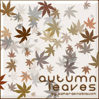 .:Autumn Leaves:. by SaharaKnoblauch