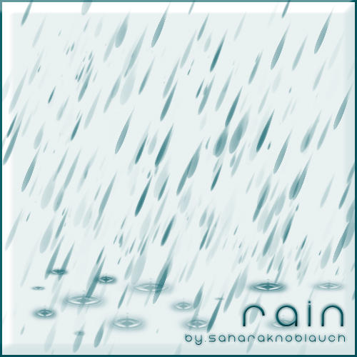.:Rainy:. - IMAGE PACK by SaharaKnoblauch