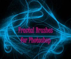 Fractal Brushes for Photoshop by AnnisPekka