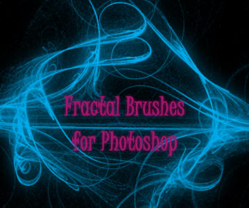 Fractal Brushes for Photoshop by AnnisPekka