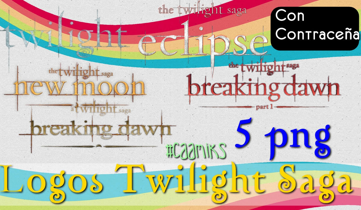 logos twilight saga png con contracenia by caamiks on
