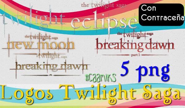 Logos Twilight Saga png Con contracenia by CaamiKS