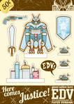 Giant Action Hero EDV Diorama