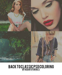 'Backtoclassic' PSD Coloring