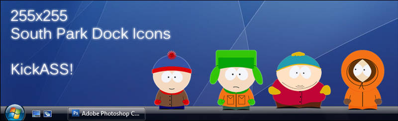 South Park Dock Icons