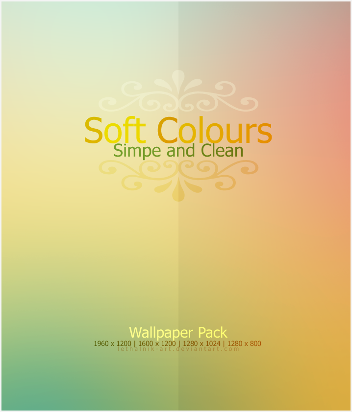 Soft Colours WP by lethalNIK-ART