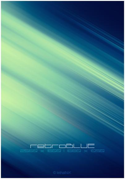 retroBLUE by lethalNIK-ART