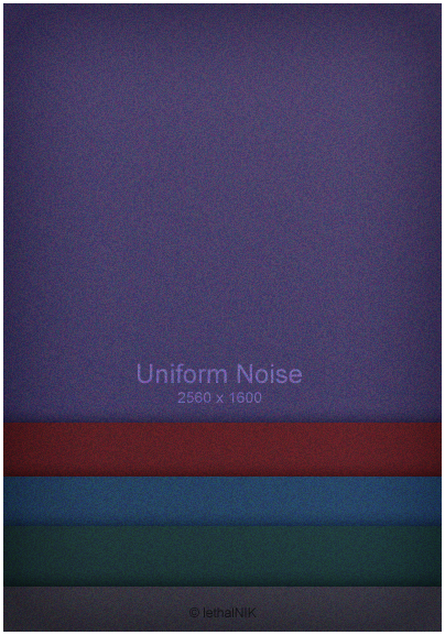Uniform Noise by lethalNIK-ART