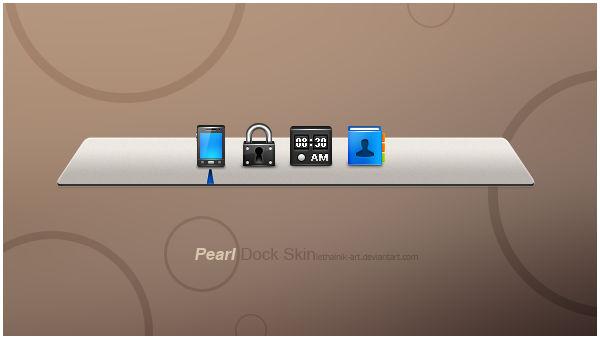 Pearl Dock Skin v0.1