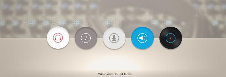 MusicSoundIcons by lethalnik