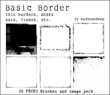 Basic Border Brushes