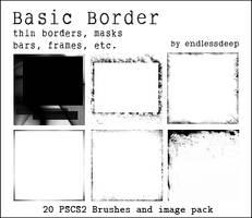 Basic Border Brushes by endlessdeep