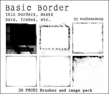 Basic Border Brushes