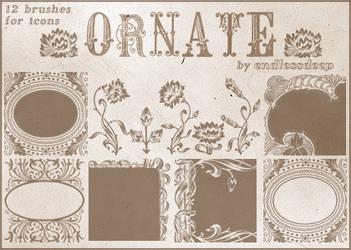 Ornate Icon Sized Brushes by endlessdeep