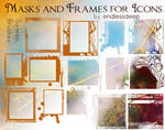 Frames and Mask brushes