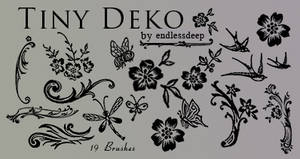 Tiny Deko brushes
