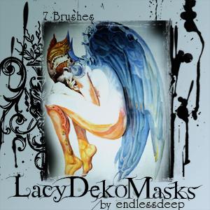 Lacy Deko Masks by endlessdeep