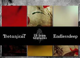 Botanical 15 Icon Textures by endlessdeep