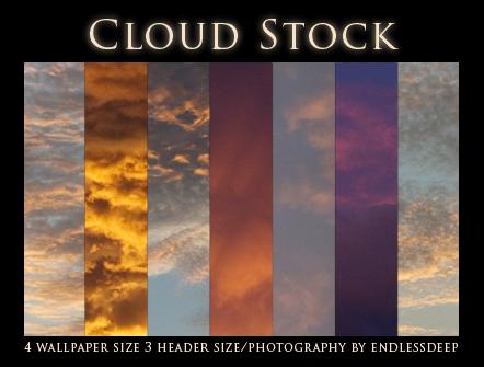 Cloud Stock by endlessdeep
