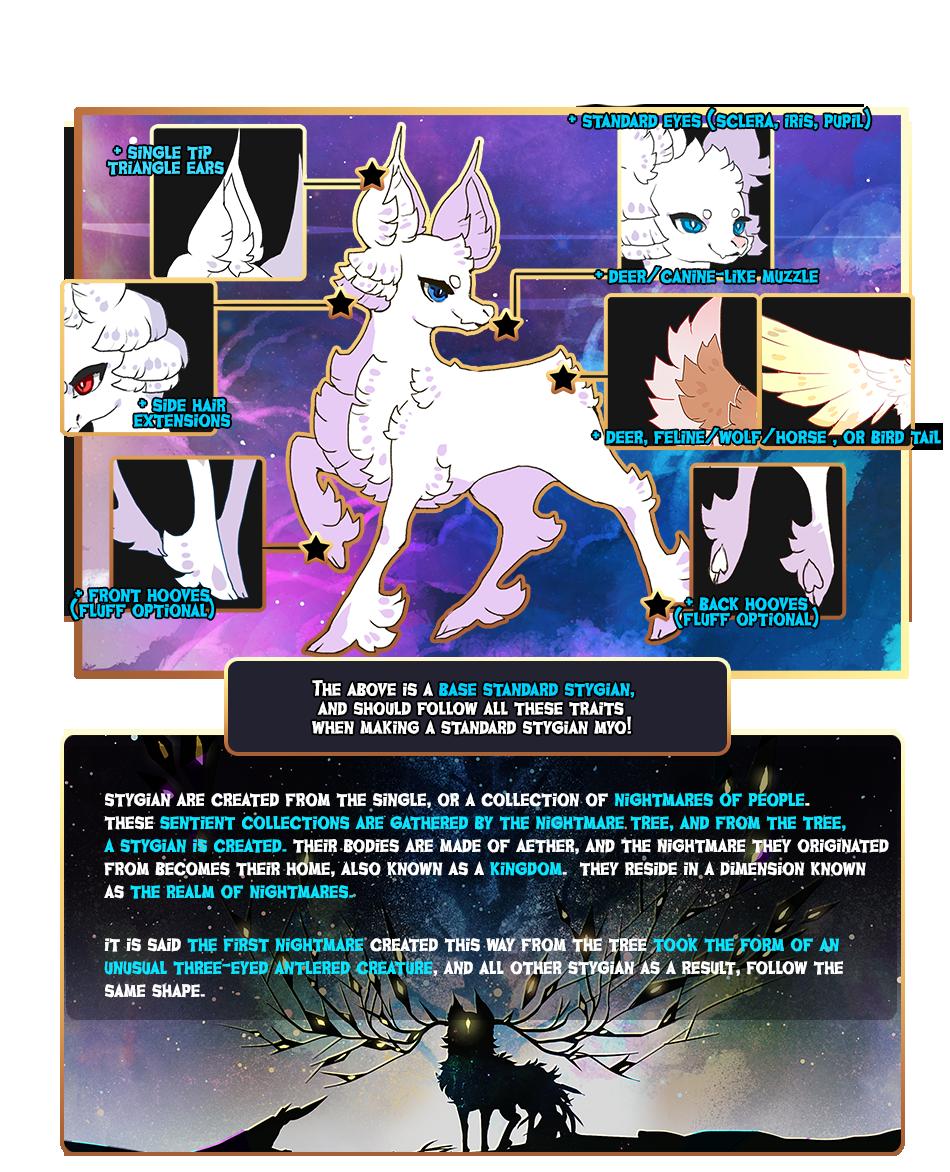 { STYGIAN } Species Info!