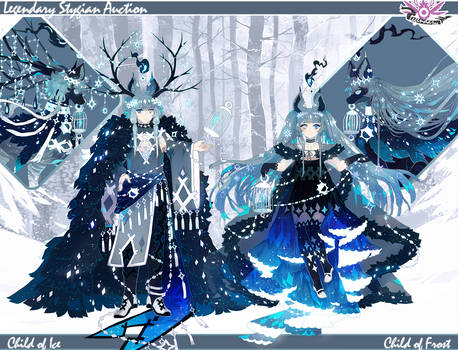 { Stygian Legendary Auction } Ice + Frost (over1!)