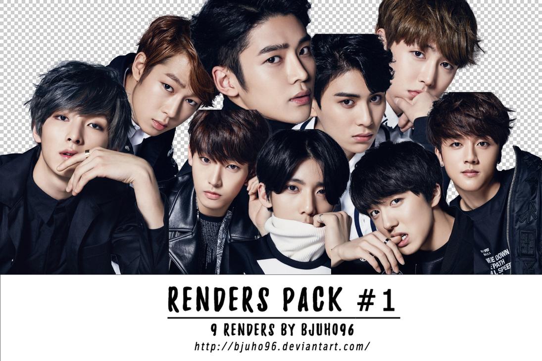 [Renders Pack #1] SF9 by bjuho96