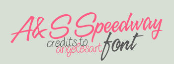 AyS Speedway Font by angelesart