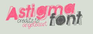 Astigma Font by angelesart